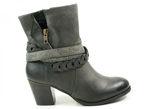 SPM 17286154 Alpina botas para mujer de cuero Grau