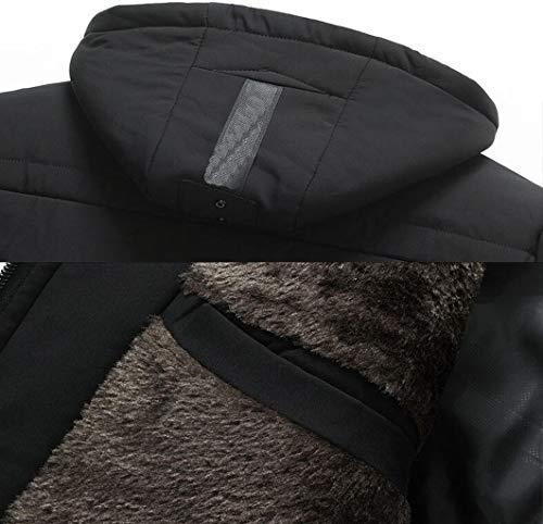 Costume Vert Zjexjj Hiver Moyen Coton Manches Manteau Âge À Métro En De Chaud couleur Taille PwxIqPS0r