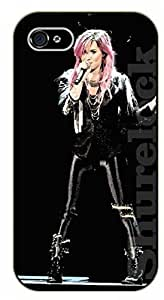 For SamSung Galaxy S5 Mini Case Cover exy girl - Demi Lovato - black plastic case / Verses, Inspirational and Motivational A