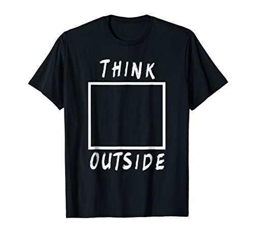 Think Outside The Box T-shirt by HEROMORO (Image #2)