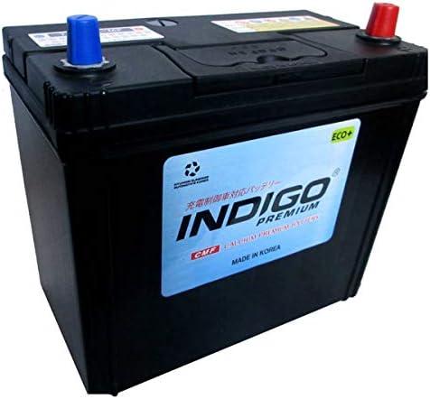 インディゴ バッテリー 75B24L アコードワゴン ABA-CM2 H16/1~H20/12 充電制御車