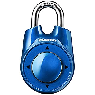 Master Lock 1500iD Locker Lock Set Your Own Directional Combination Padlock, 1 Pack, Assorted Colors (B002TSN4SQ) | Amazon price tracker / tracking, Amazon price history charts, Amazon price watches, Amazon price drop alerts