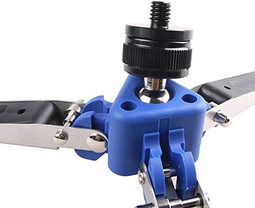 Semoic Universal Three-Foot Support Stand Monopod Base for Tripod Head DSLR L2S5