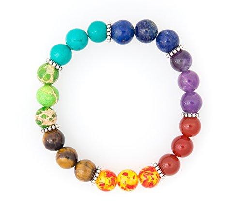 Chakra Healing Bracelet Volcanic Meditation
