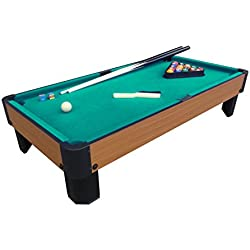 Playcraft Sport Bank Shot 40-Inch Pool Table with Green Cloth