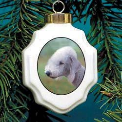 Christmas Ornament: Bedlington Terrier ()