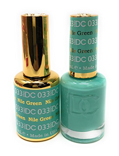 DND DC Duo Gel + Polish - 033 Nile Green