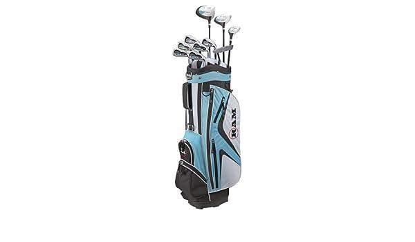 Ram Demon SDX- Juego de palos de golf para mujer (con bolsa ...