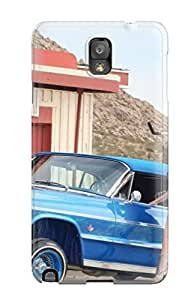 Hot Design Premium UGONmnm5685hARXW Tpu Case Cover Galaxy Note 3 Protection Case(girls And Cars)