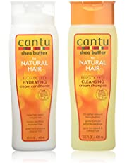 Cantu Shea Butter for Natural Hair Double Combo Shampoo and