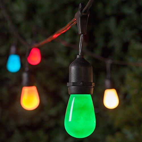 Opaque Outdoor Christmas Lights - 9