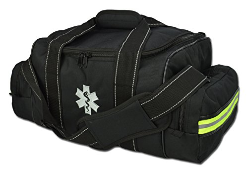 - Lightning X Large EMT Medic First Responder EMS Tactical Trauma Bag w/Dividers (Stealth Black)