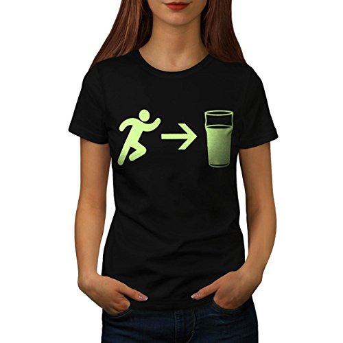 exit-beer-needs-me-women-new-l-t-shirt-wellcoda