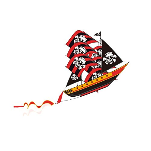 In the Breeze Pirate Ship 3D Nylon Kite by In the Breeze