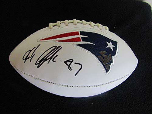 ROB GRONKOWSKI AUTOGRAPHED SIGNED PATRIOTS FOOTBALL