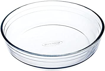 Ô cuisine  - Molde Tarta, Hondo, Blanco, 22 cm