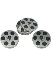 PickUp 3-piece set of Mini Film Reel Tins (6 11/16