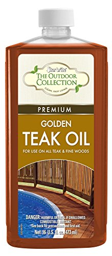 Star brite 52216 Premium Teak Oil, 16 oz. (Finish Weathered Teak)