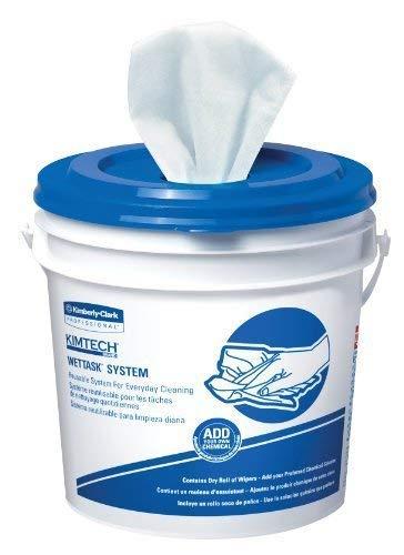 KIMTECH Prep 06411 Rollo desechable Wiper para Bleach, desinfectantes y desinfectantes, 12-1
