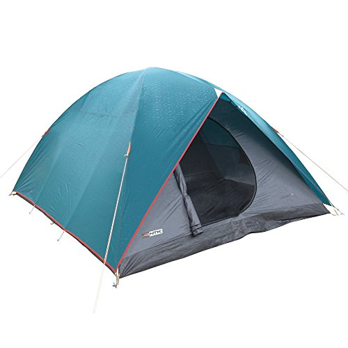 NTK Cherokee GT 8 to 9 Person 10 by 12 Foot Sport Camping Dome Tent 100% Waterproof 2500mm 3 Seasons (Sport Dome Tent)