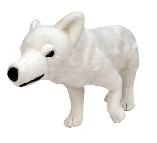 Star images Jeu de direwolf Game of Thrones fantôme en peluche