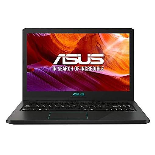 "ASUS R570ZD-DM266 - Portátil de 15.6"" FHD (AMD Ryzen 5-2500U, 8 GB RAM, 256GB SSD, NVIDIA GeForce GTX1050 2 GB, sin sistema operativo) Negro - Teclado QWERTY Español 1"