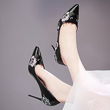 hot sale online 2daaf 44c93 GTVERNH-neri scarpe col tacco alto donne con tacco delle ...