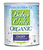 Baby's Only Organic Dairy Toddler Formula,12.7 Oz. Sold By Each
