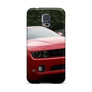 TrevorBahri Samsung Galaxy S5 Durable Hard Phone Covers Support Personal Customs Lifelike Chevy Camero Ss Pattern [dbc3414fZqM]