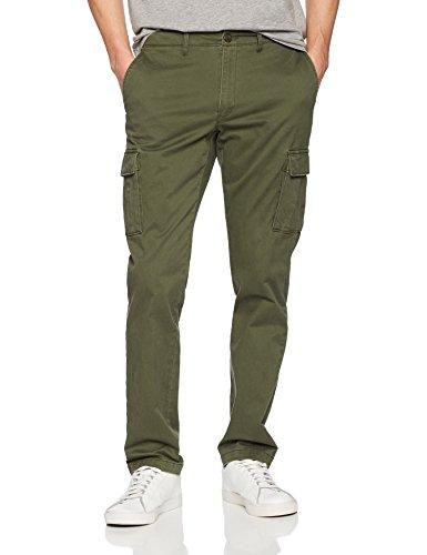 Goodthreads Men's Slim-Fit Vintage Cargo Pant, Deep Depth/Olive, 34W x ()