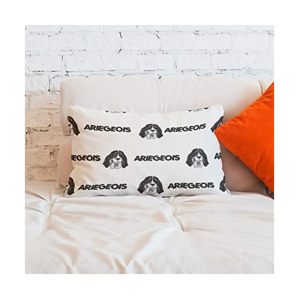 Personalized Pillow Case Ariegeois Dog Breed Style A Polyester Pillow Cover 20INx28IN Design Only Set of 2 6
