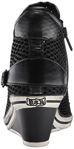 As-vrouw Roddel Fashion Sneaker Zwart / Zwart