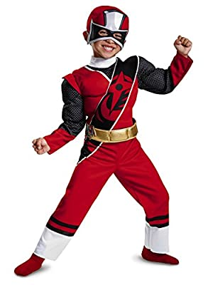 Disguise Ranger Ninja Steel Toddler Muscle Costume