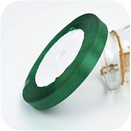 kawayi-桃 25ヤード/ロールグログランサテンリボン結婚式の誕生日パーティーの装飾DIY弓クラフトリボンカードギフトラッピング用品-34-6mm
