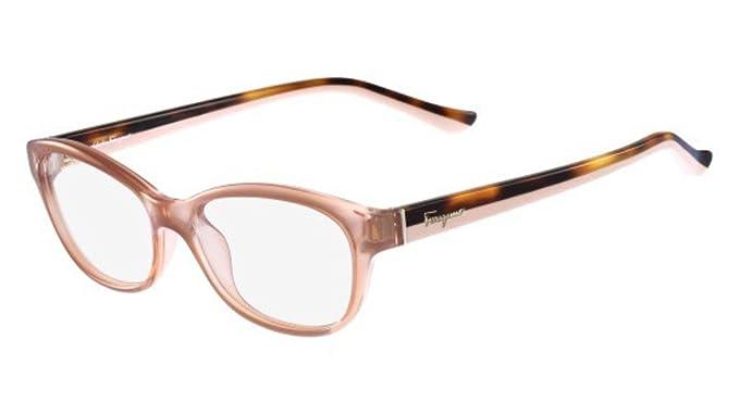 d60b523b439 Image Unavailable. Image not available for. Color  SALVATORE FERRAGAMO  Eyeglasses SF2722 643 Antique Rose 53MM