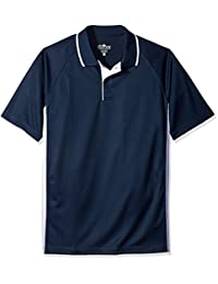 Charles River Apparel mens Color Blocked Wicking Polo