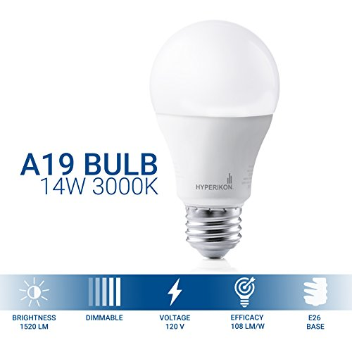 A19-14W-Dimmable