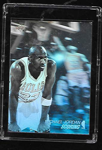 Michael Jordan 1991-92 Upper Deck Basketball Card # AW1 - Award Winners - Stored in a Protective Plastic Display Case!! (1991 92 Upper Deck)