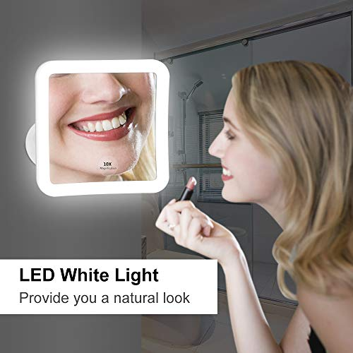 Led Mirror Attachment Kedsum Flexible Gooseneck 8 Quot 10x