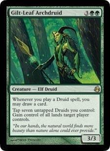 Magic: the Gathering - Gilt-Leaf Archdruid - Morningtide - Foil