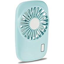 Aluan Handheld Fan Mini Fan Powerful Small Personal Portable Fan Speed Adjustable USB Rechargeable Cooling for Kids Girls Woman Home Office Outdoor Travel