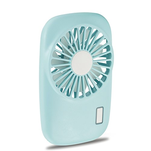 Aluan Handheld Fan Mini Fan Powerful Small Personal Portable Fan Speed Adjustable USB Rechargeable Eyelash Fan for Kids Girls Woman Home Office Outdoor Travel