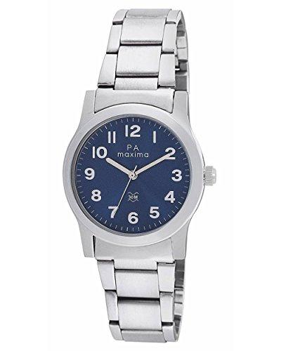 Maxima Analog Blue Dial Women's Watch – O-46660CMLI