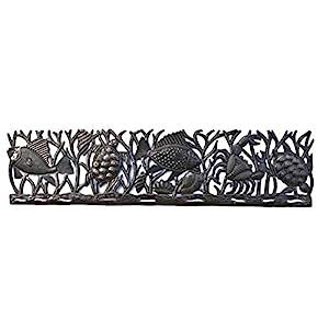 41yKqLGsKKL._SS300_ Coastal Metal Wall Art & Beach Metal Wall Decor