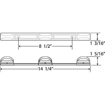 Optronics MCL97RK LED Identification Light Bar: Automotive