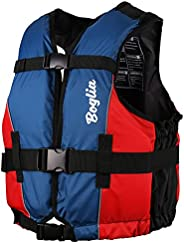 Boglia Swim Vest, Swim Jacket for Adult,PVC Floation Swimsuit Swimwear with Adjustable Safety Strap