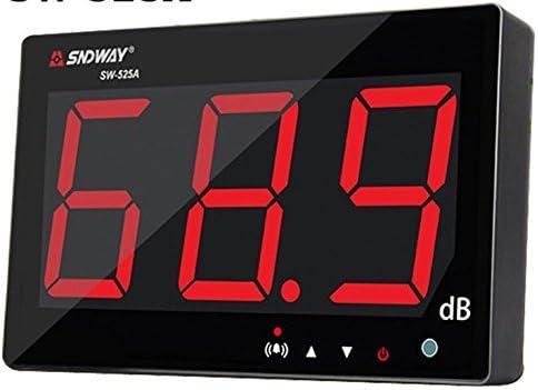 Testhelper Sound Level Meter Tester 30-130Db Large Screen Lcd Display