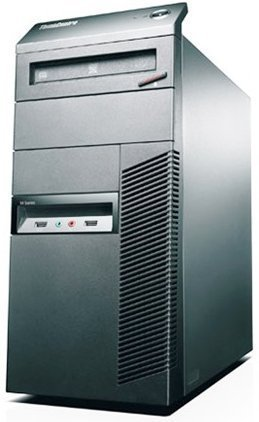 Lenovo ThinkCentre M81 High Performance Mid Tower Business Desktop Computer (Intel Quad-Core i5 up to 3.4 GHz, 8GB RAM, 2TB HDD + 240GB SSD, DVD, Windows 7 Professional) (Certified Refurbished)
