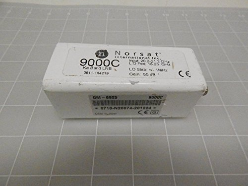 Norsat GM-6925, 9000C, 0811-184219 Low Noise Block Down Converter T73678 ()