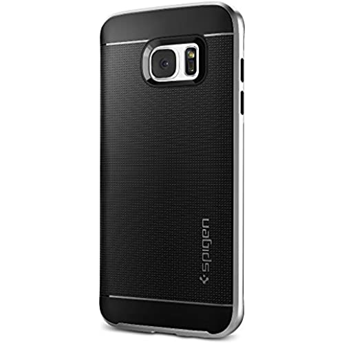 Spigen Neo Hybrid Galaxy S7 Edge Case with Flexible Inner Protection and Reinforced Hard Bumper Frame for Samsung Galaxy S7 Edge 2016 - Satin Silver Sales